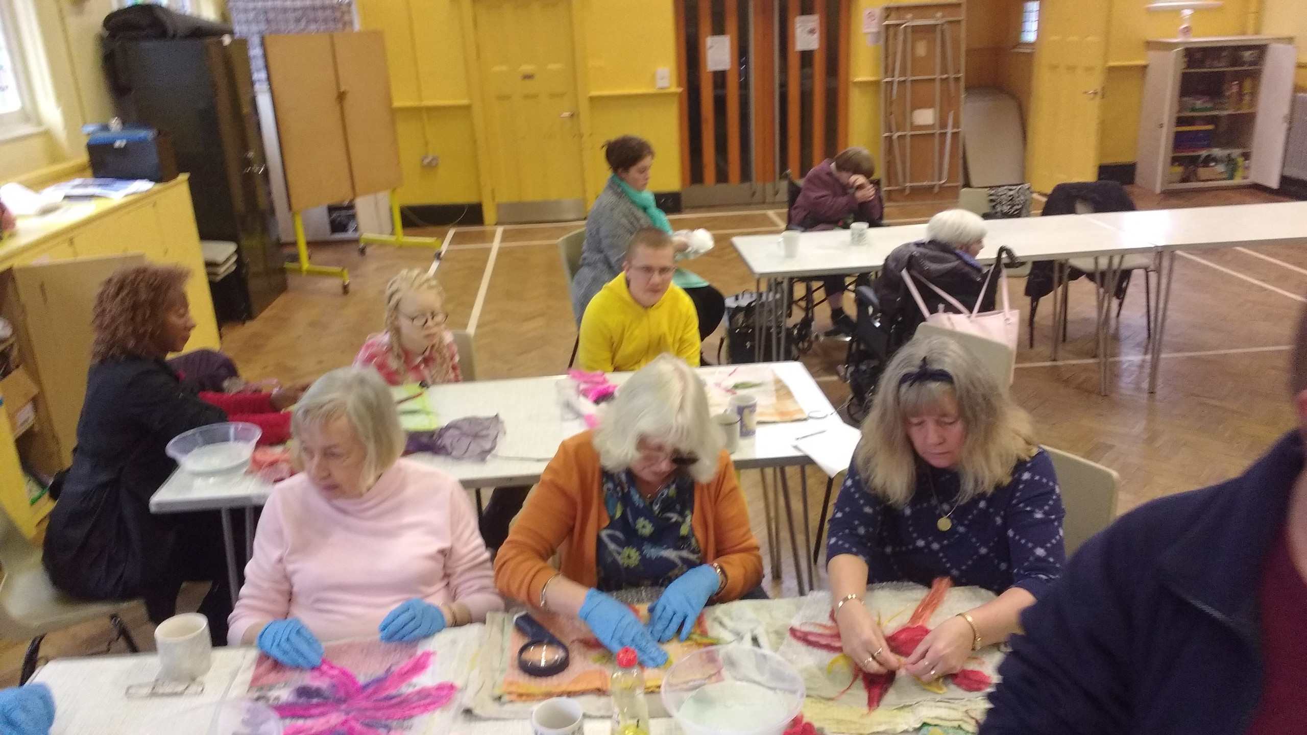 Clusters Felting Session