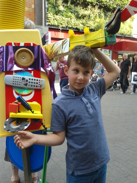 Ronnie's Robot