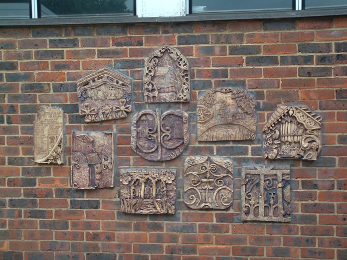 Carshalton Girls' School plaques