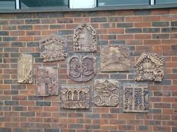 Carshalton Girls' School plaques