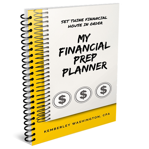My Financial Prep Planner