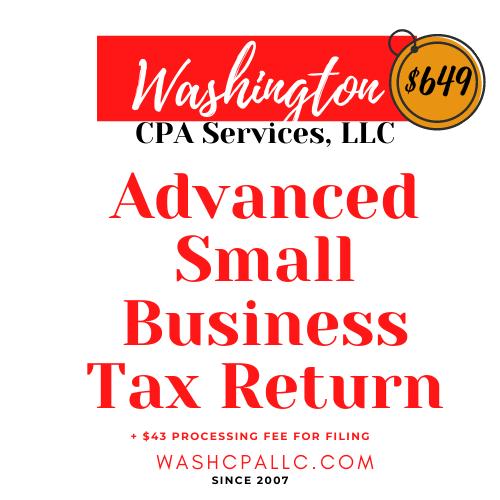 Advanced Small Business Tax Preparation