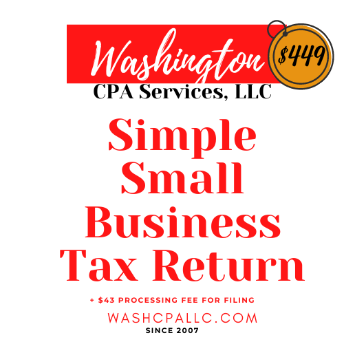 Simple Small Business Tax Preparation