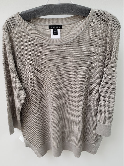 Taupe Silver Tunic