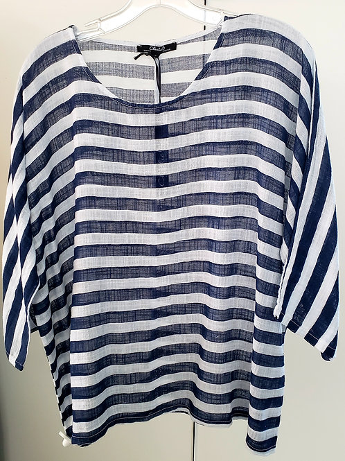 High Seas Stripes Striped Top