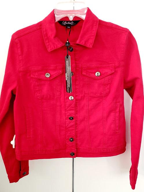 Red Sky At Night...Denim Jacket