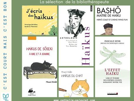 La sélection de la bibliothérapeute : Le haïku