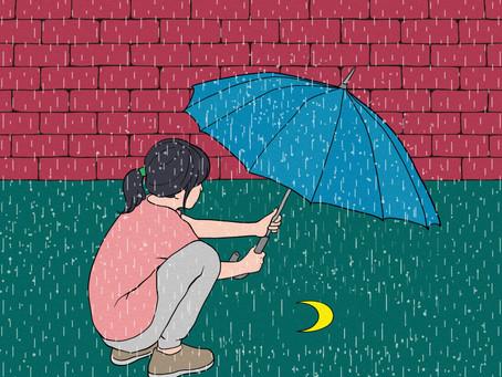 Un poème à lire, un poème à écrire : juste après la pluie