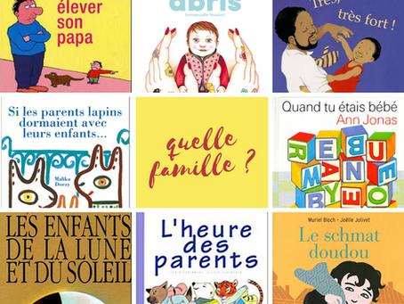 La sélection de la bibliothérapeute : Quelle famille ?