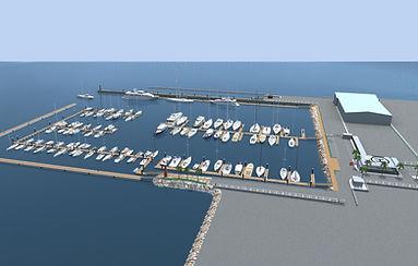 строительство яхт-клуба