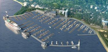 проектирование яхт-клуба