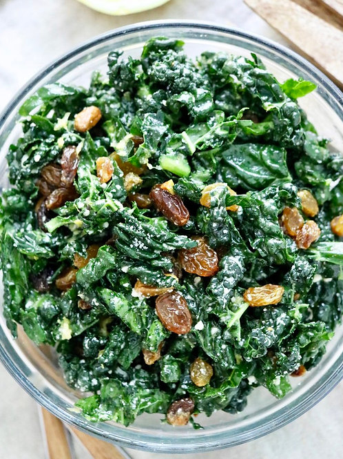 Kale Salad with Lemon Dressing for 2 people ($6/pers)