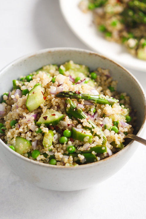 Spring Quinoa Salad with Vinaigrette for 2 people ($6.5/pers)