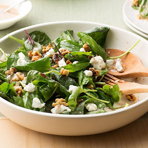 Baby Spinach Salad for 2 people ($6/pers)
