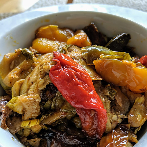 Slow-cooked Roasted Vegetables for 2 people ($6.5/pers)