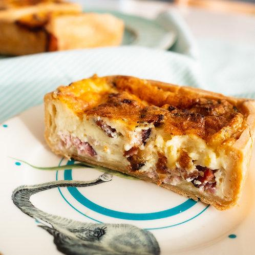 Quiche Lorraine for 2 people (2 pies; $9.5/pie)