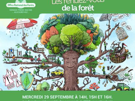 Inédit - EVENEMENT ONF : Le 29/09 les forestiers vont répondre à vos questions.