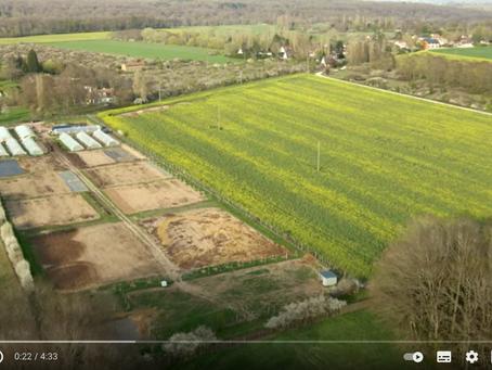 La Ferme des Alouettes -Grosrouvre - Les semis