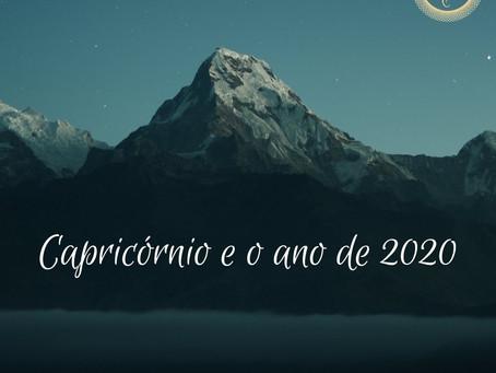 Capricórnio e o ano de 2020