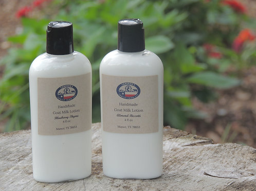 Goat Milk Lotion 4oz