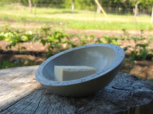 Handcrafted Concrete Soap Dish