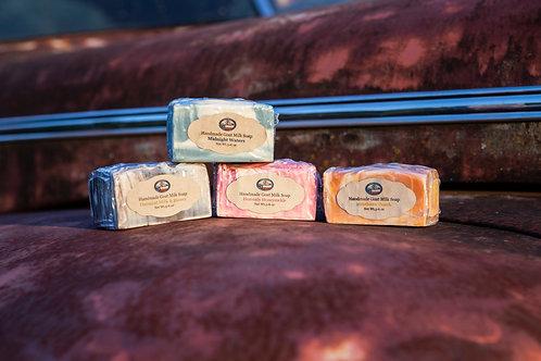 Creamy Goat Milk Soap 5.5-6oz bars