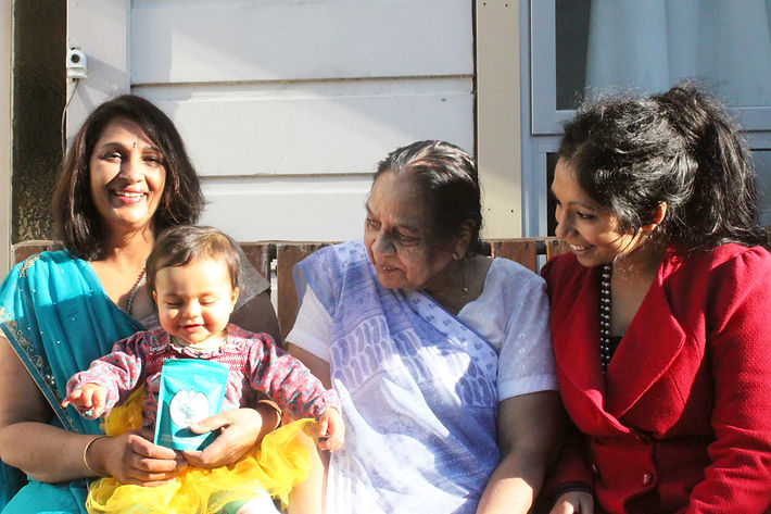 Four generations of chai lovers!