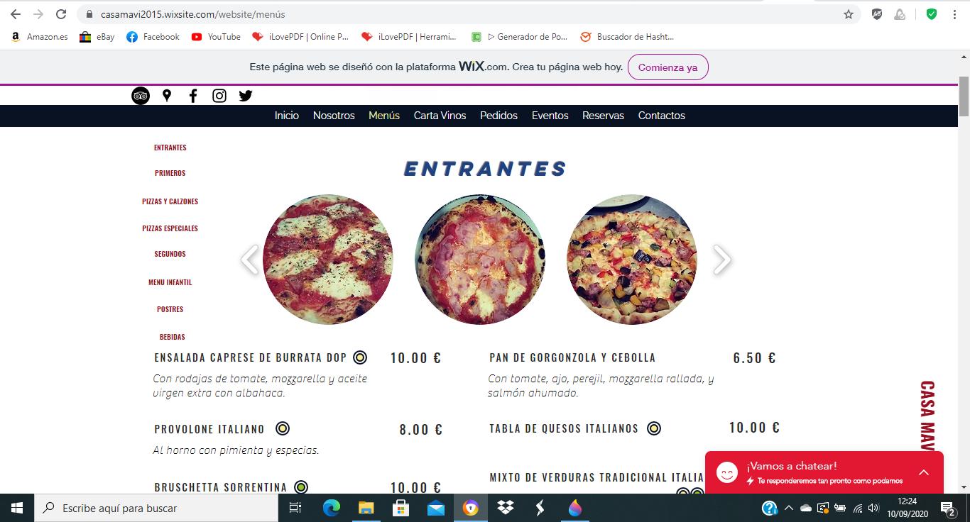 Pizzería Casa Mavi