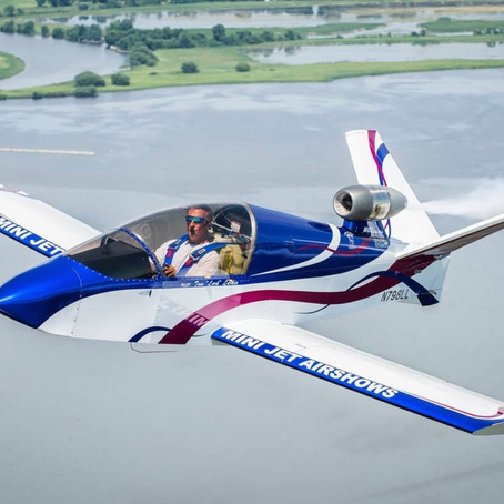 MINI JET AIRSHOWS, RETURNING ACT TO MOSES LAKE AIRSHOW