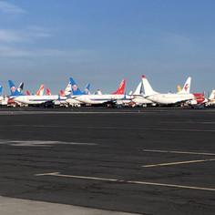 737 Storage Area - 2021 Moses Lake Airshow