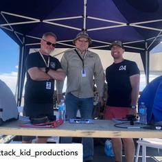 Derek Allen with the Air Boss Team - 2021 Moses Lake Airshow
