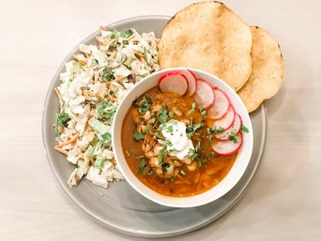 20-Minute Pozole Soup