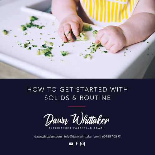 Solids & Routine eGuide