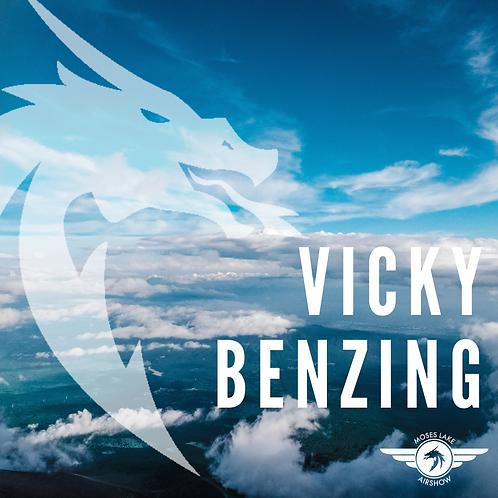Vicky Benzing Sponsorship