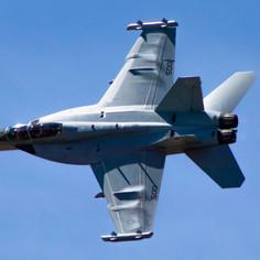 EA 18-G Growler Demo Team- 2021 Moses Lake Airshow
