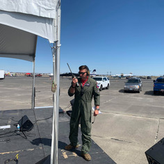 """Capt Sky """"Comet"""" Leah Demo Team Safety Officer - 2021 Moses Lake Airshow"""