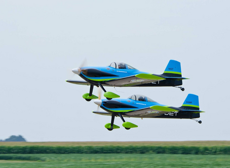 MOSES LAKE AIRSHOW ACT LEADING THE WAY FOR ENVIRONMENTALLY FRIENDLY FLYING POWER: VANGUARD SQUADRON