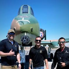 A-10 Demo Team BTS - 2021 Moses Lake Airshow