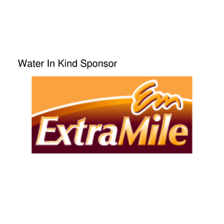 Extra Mile - Water In Kind Sponsor