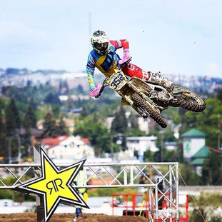 Competes in the Canadian MX National Series, AMA Motocross, AMA Supercross and Arenacross