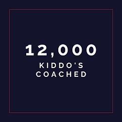 12,000 Kiddo´s Coached