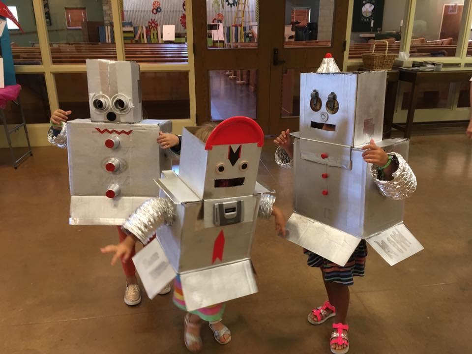 Robots at VBS
