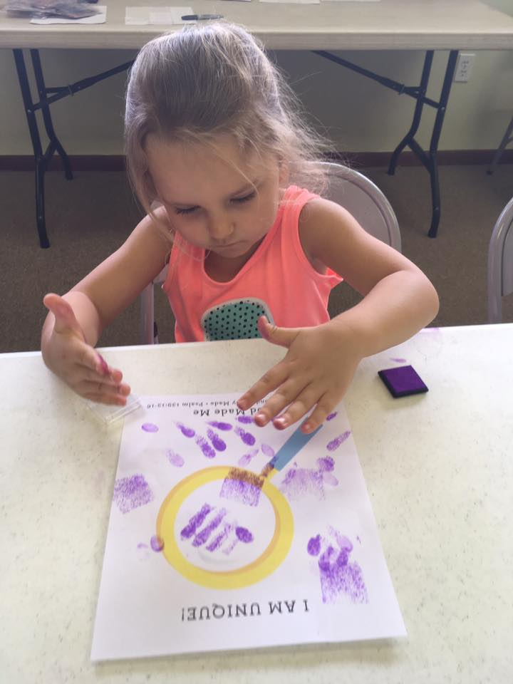 VBS Craft time