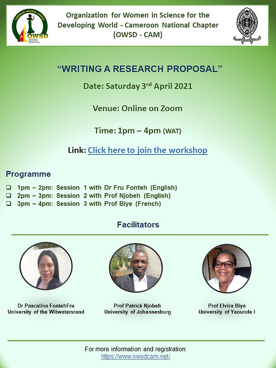 Workshop - Writing a Research Proposal.j