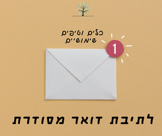 תיבת דואר מדוגמת