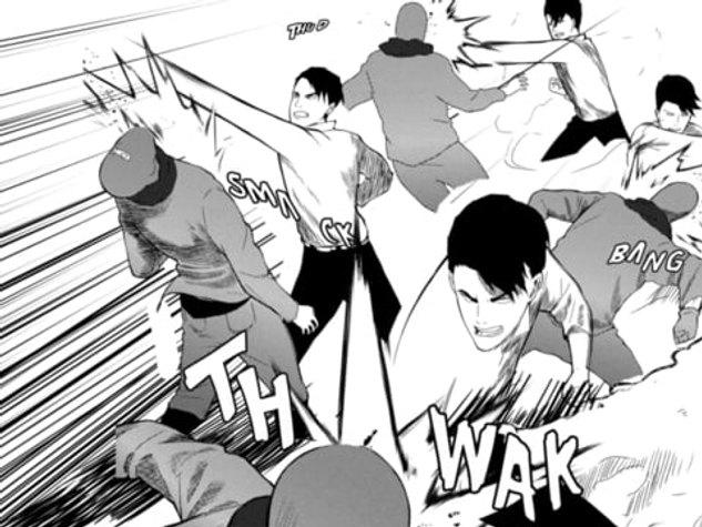 Almier Motion Comic - Fight Scene
