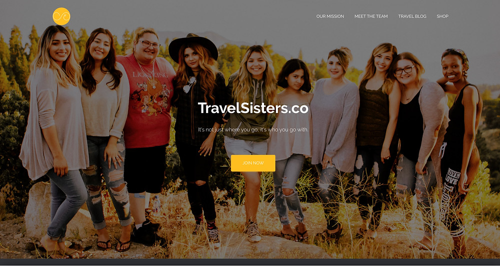 women travel - travel sisters - find travel companion