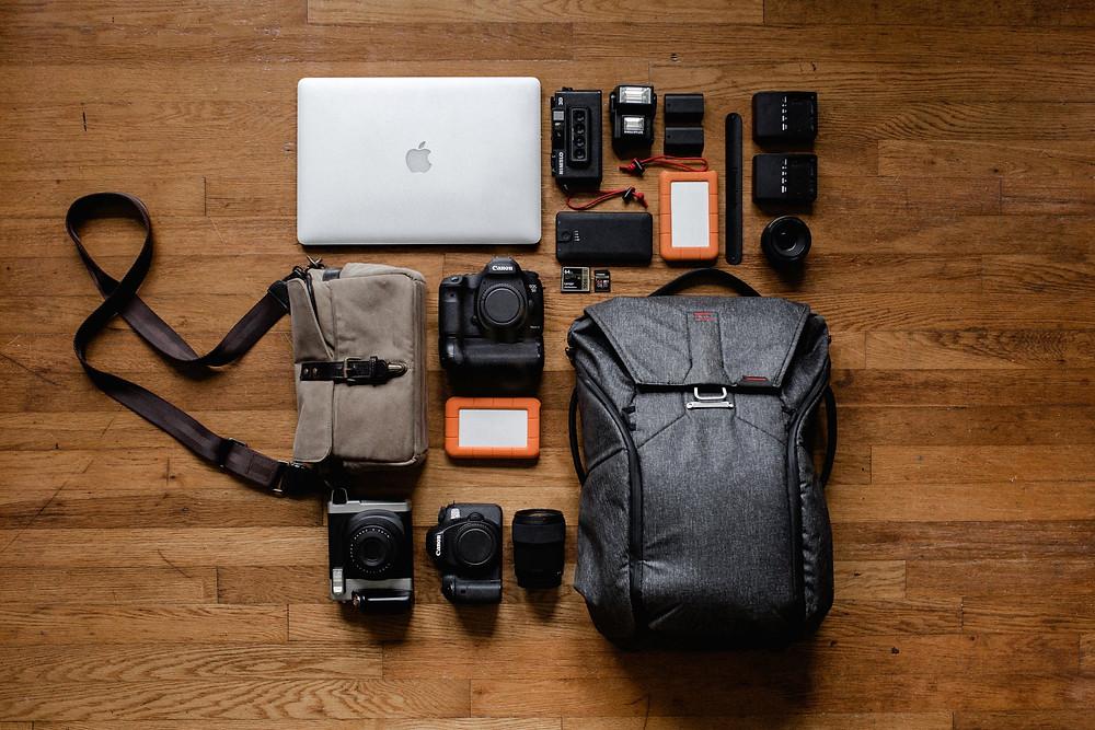 travel essentials - packing