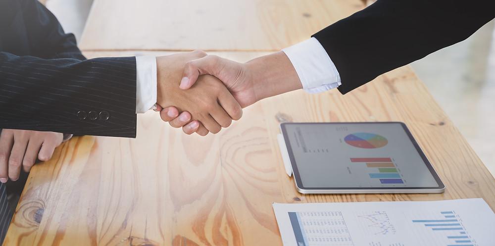 business partner - handshake