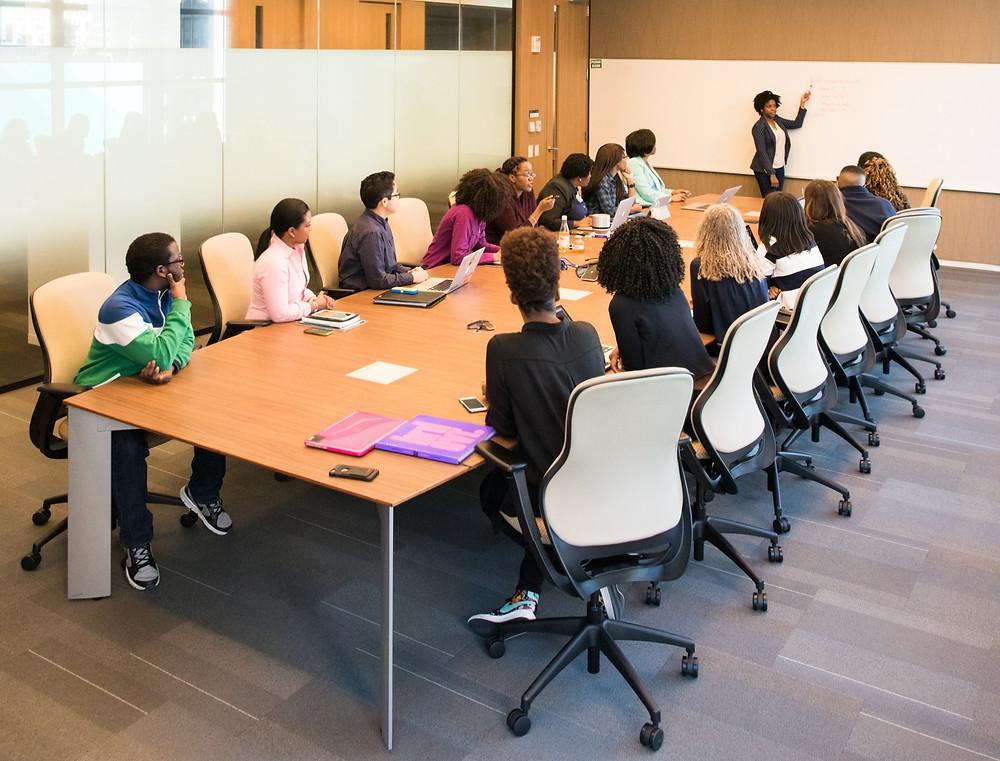 meeting - office - board members